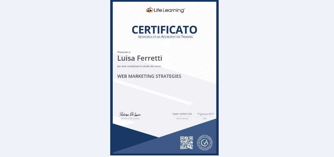 corso WEB MARKETING STRATEGIES Giulianova Teramo