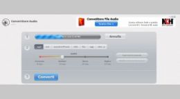 Convertitore file audio online ed in modo gratuito