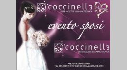 Evento sposi a Coccinella Giulianova...stay tuned!