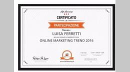 Online Marketing Trend 2016 - Giulianova