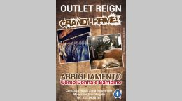 Stampa flyer pubblicitari Mosciano Sant'Angelo - Reign Outlet