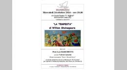"Giulianova ""LA TEMPESTA"" di William Shakespeare"