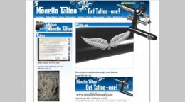 Sito Web Giulianova - Monello Tattoo Shop Supply