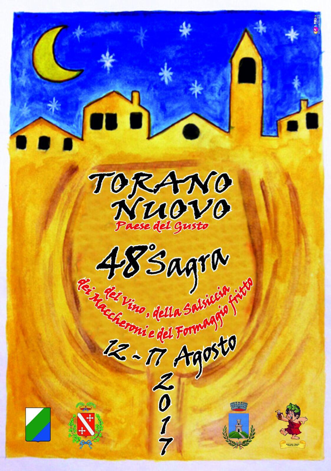 48^ Sagra Torano Nuovo 12 - 17 Agosto 2017