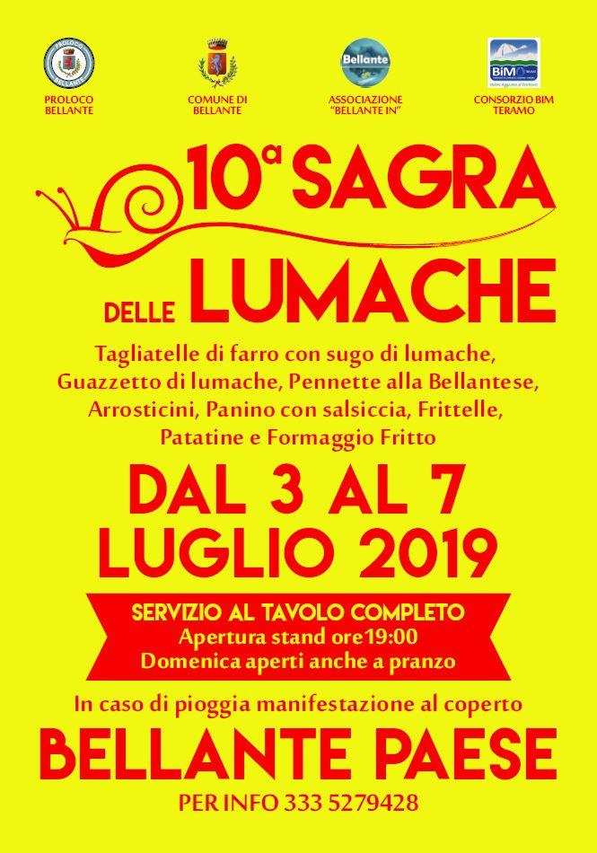 10° Sagra delle Lumache di Bellante