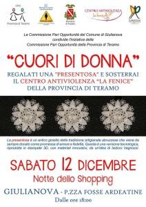La Commissione Pari Opportunità Comune di Giulianova sostiene il Centro Antiviolenza la Fenice