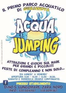 Distribuzione pubblicitaria Volantinaggio provincia di Teramo per Acqua Jumping