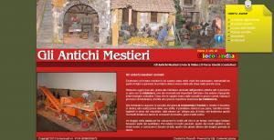Gli antichi Mestieri - Miniature animate raffiguranti gli antichi mestieri Giulianova Abruzzo