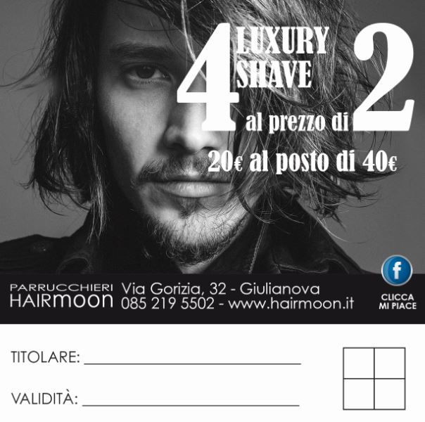 Grafica pubblicitaria per barbieri a Giulianova ed in Abruzzo