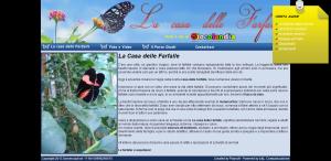La casa delle farfalle Giulianova Teramo - il regno delle crisalidi in libertà in Abruzzo