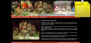 Presepio artistico animato - Il più bel presepe animato in Italia - Teramo Abruzzo