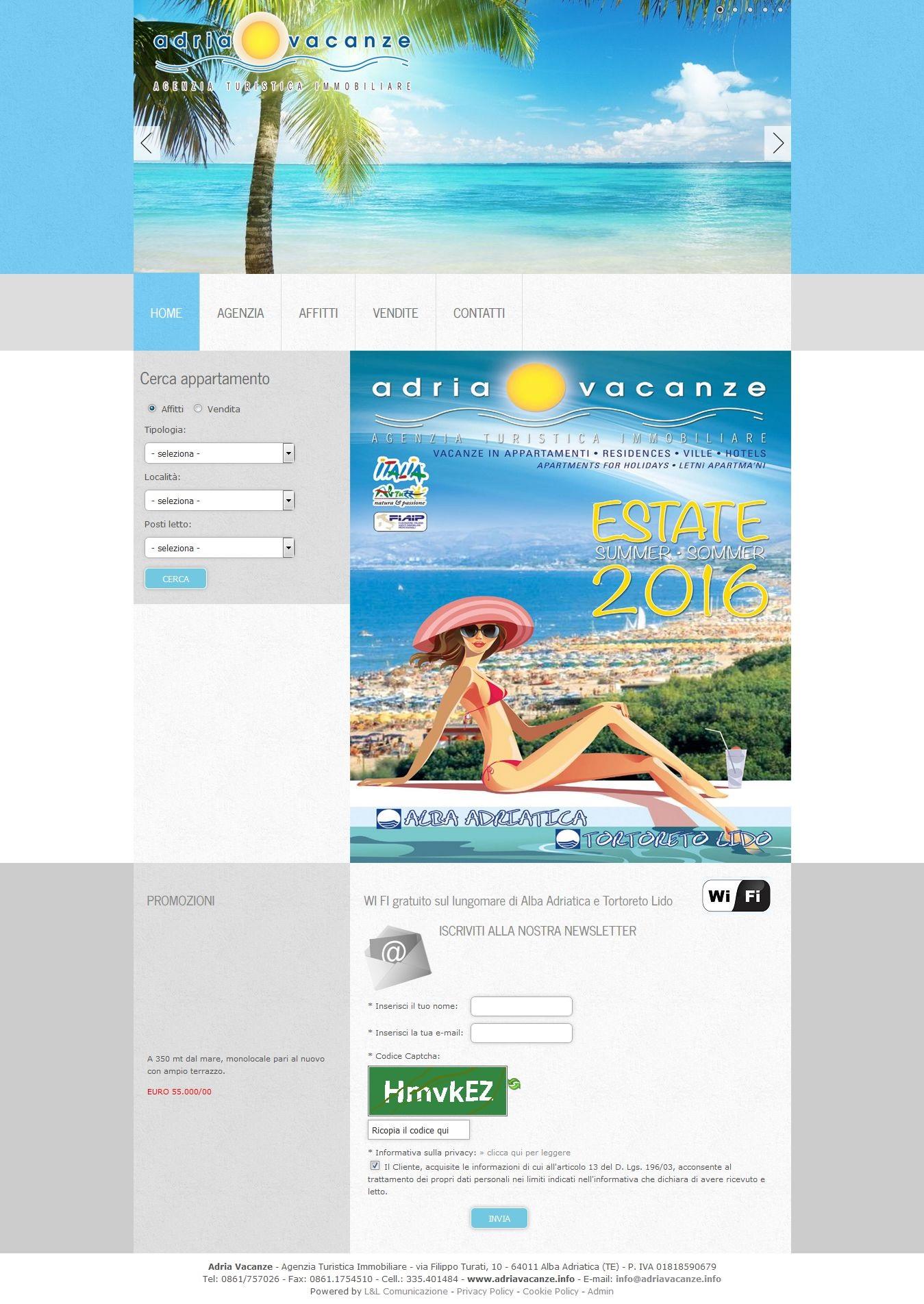 Realizzazione Siti Internet Web Marketing Alba Adriatica
