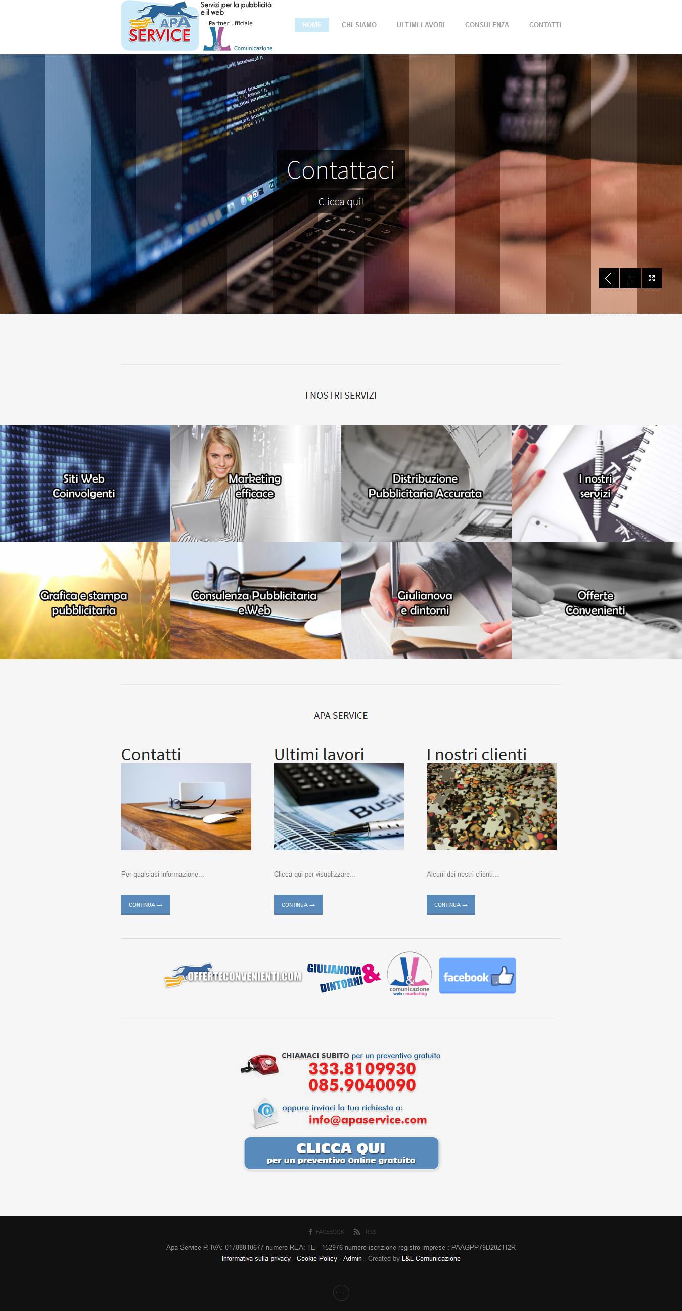 Realizzazione Siti Internet Web Marketing Giulianova