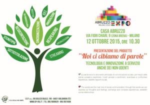 Realizzazione inviti digitali flyer Giulianova e Teramo