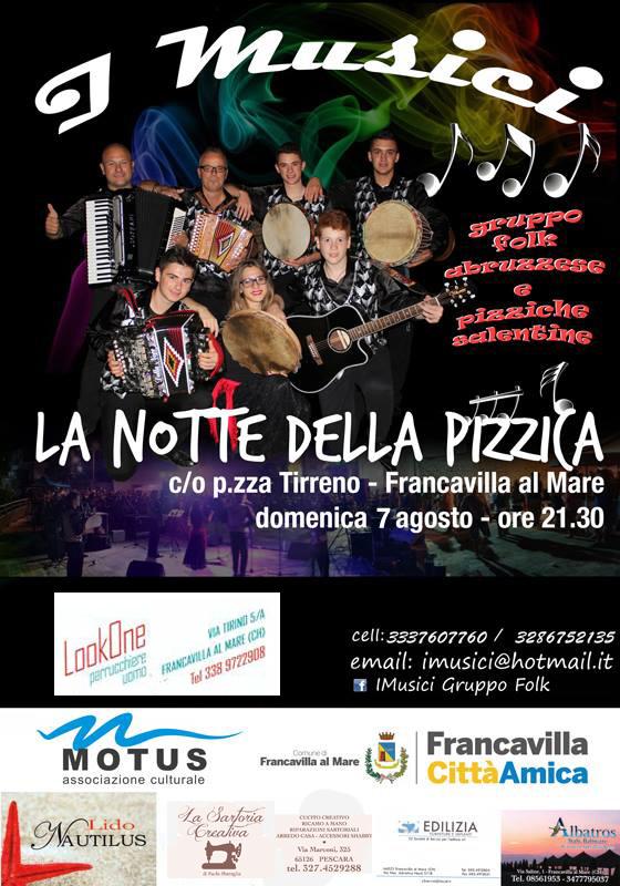 Torna la Notte della Pizzica a Pretaro - Francavilla al Mare