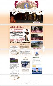 Villa Reale Resort Corropoli - Ristorante Pesce Teramo - Ristorante Matrimonio Abruzzo
