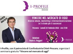 Vincere nel mercato di oggi - evento gratuito del 22 febbraio Pescara