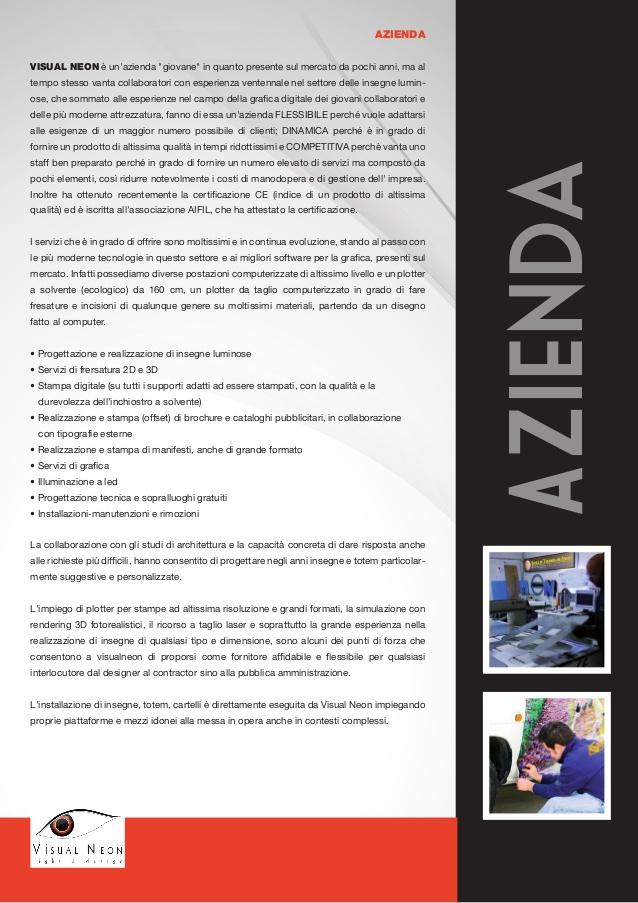 Visual Neon - Insegne luminose Neon Led e Light Design - Tortoreto - Abruzzo