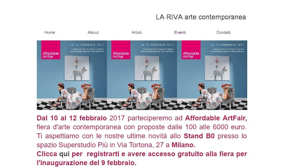 Affordable artFair a Milano dal 10 al 12 Febbraio