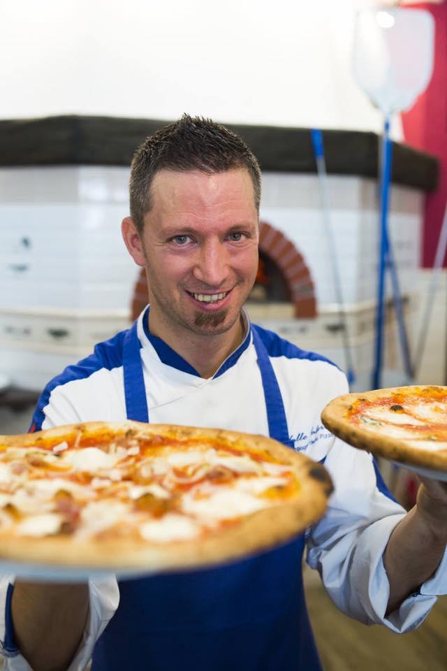 Giovani pizzaioli che non temono la crisi, la nuova sfida di Valerio Valle tocca Atri