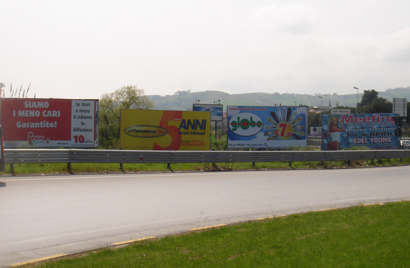 Cartelloni pubblicitari Giulianova - Cartelloni e spazi pubblicitari esterni a Giulianova