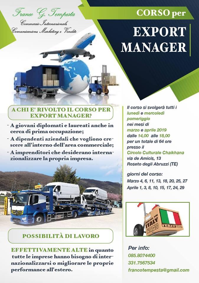 orso Export Manager Abruzzo - Roseto degli Abruzzi - Teramo