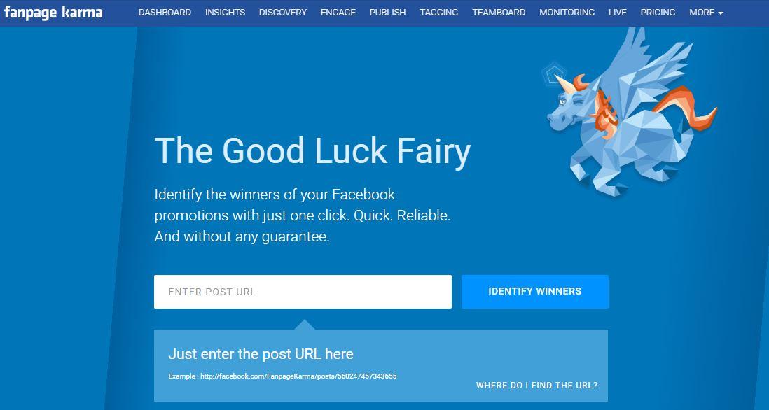 Estrazione random sui commenti Facebook per contest e premiazione