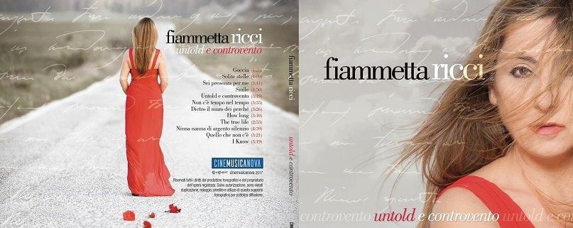 Musica : a Teramo torna Fiammetta Ricci col suo secondo album Untold e Controvento