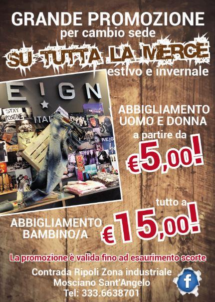 Flyer pubblicitari Mosciano Sant'Angelo