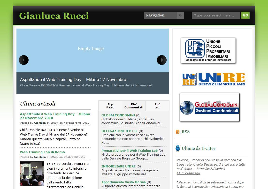 Realizzazione sito internet Chieti Gianluca Rucci