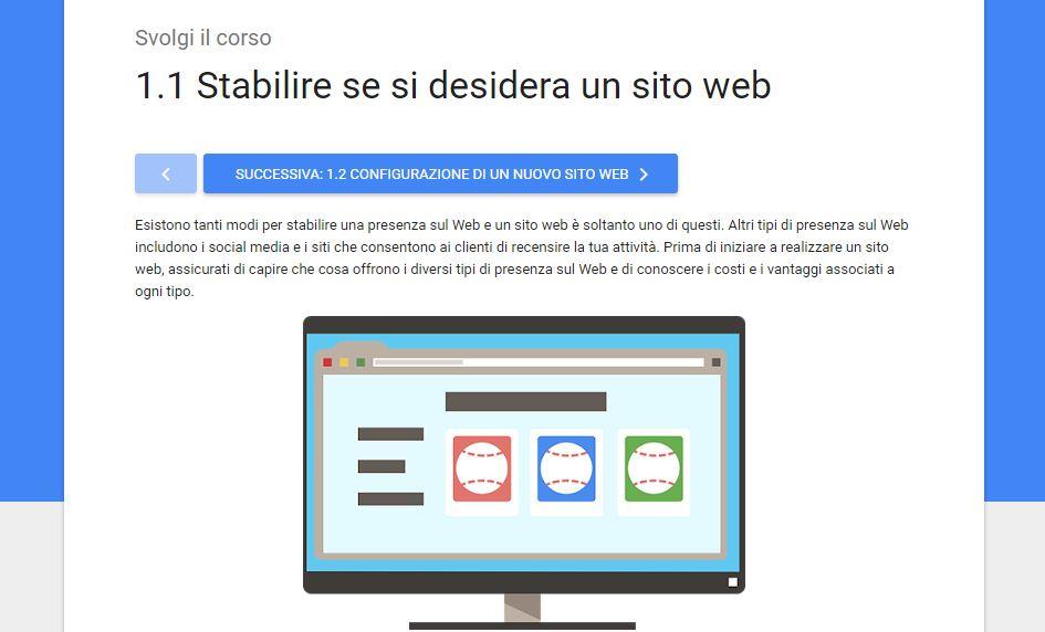 Google Webmaster Academy - Il Corso