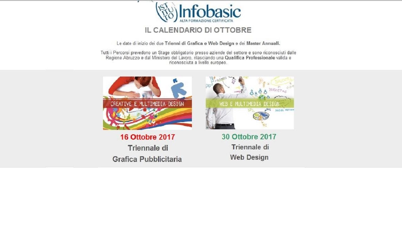 Infobasic Pescara - CALENDARIO DI OTTOBRE