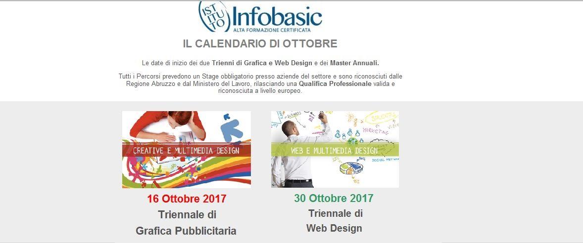 Infobasic Pescara - IL CALENDARIO DI OTTOBRE