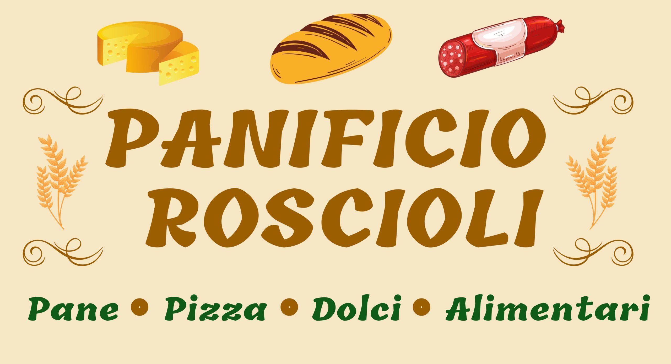 Insegna non luminosa monofacciale  per negozio panificio a Giulianova
