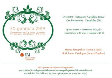 Invito ufficiale Pranzo di Buon Anno – dalla delegazione FAI Teramo