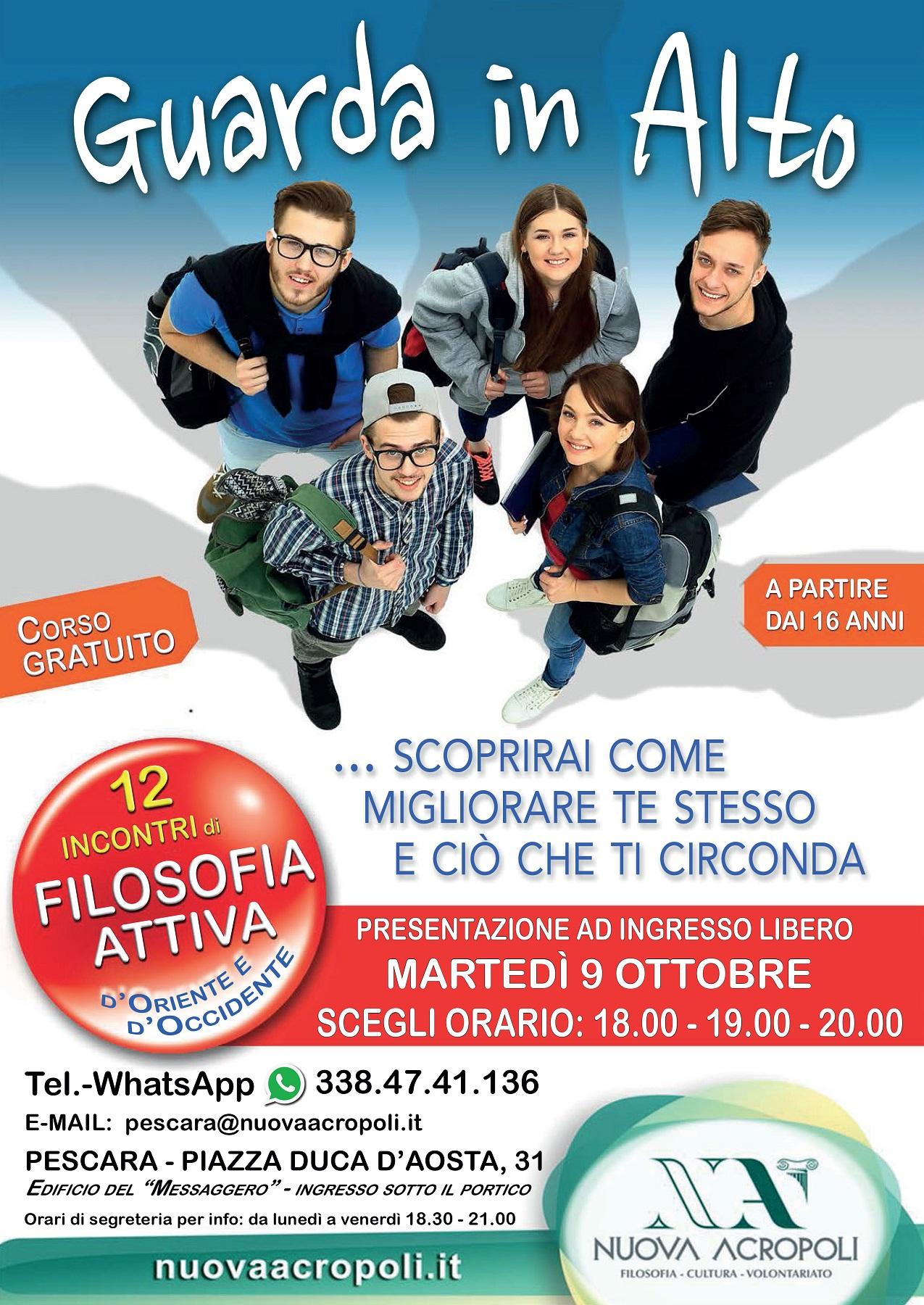 Pescara : Corso Gratuito di Filosofia Attiva