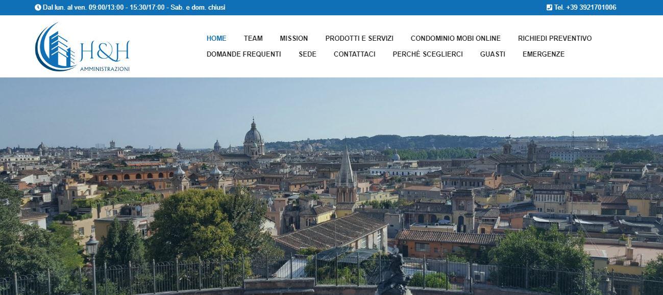 Realizzazione siti web Roma - Creazione sito internet Roma
