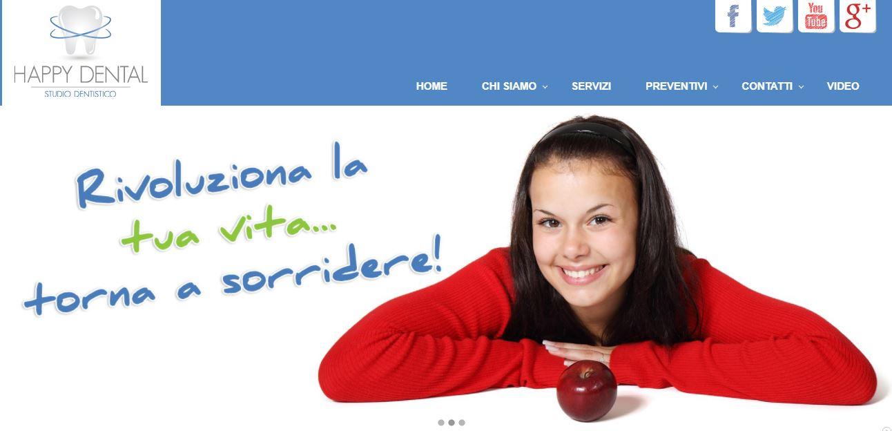 Realizzazione Sito Internet Studio Odontoiatrico e Dentistico