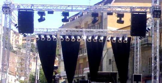 Service Audio Luci Abruzzo Teramo Pescara Video e Foto per eventi e manifestazioni