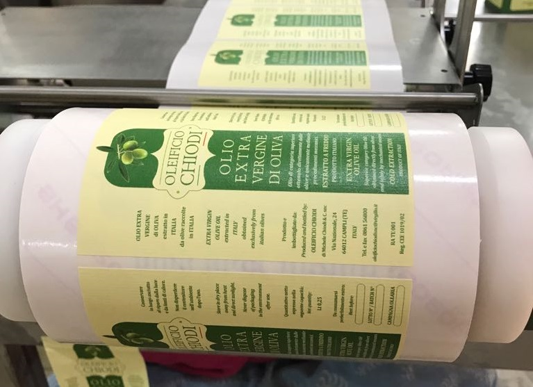 Stampa etichette Giulianova Teramo