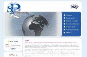 Restyling e Indicizzazione sito internet Studio Paolini di Francavilla CHIETI