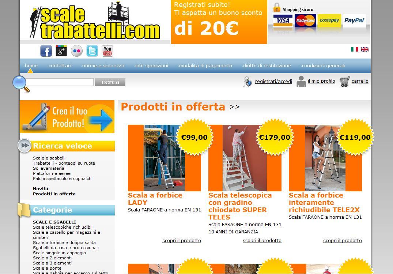 Realizzazione siti e-commerce Teramo Abruzzo