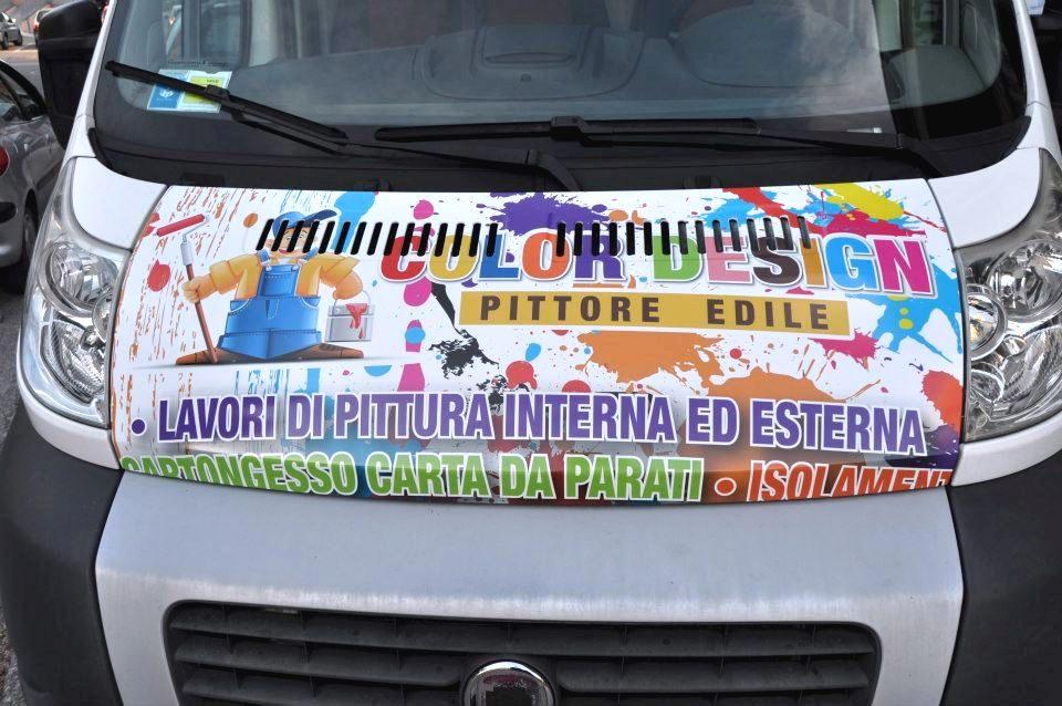 Scritte pubblicitarie su automezzi Giulianova Teramo