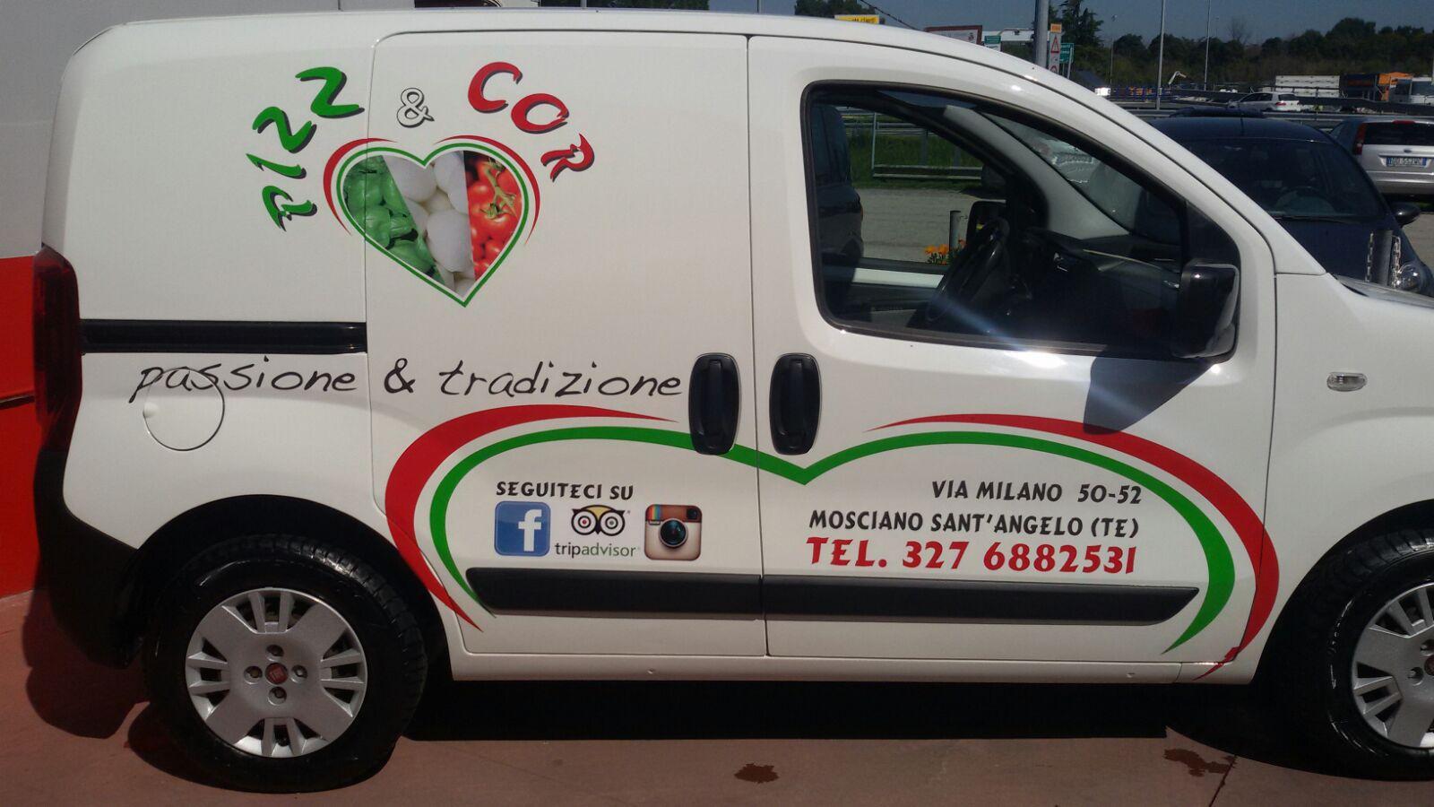 Allestimento grafico veicoli macchine furgoni industriali adesivi resinati Giulianova (4)