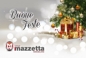 Biglietti d'auguri aziendali Roma - Agenzia immobiliare Mazzetta Group