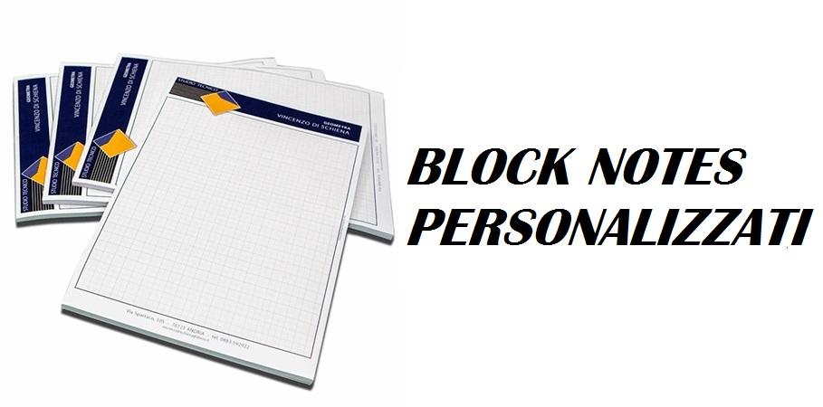 Block Notes personalizzati Giulianova Teramo