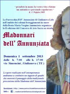 Giulianova, Concorso di Arte Sacra su strada denominato Madonnari dell'Annunziata