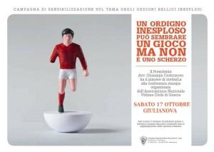 Giulianova ospiterà il primo evento nazionale della campagna di sensibilizzazione