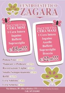 Stampa e grafica flyer Alba Adriatica