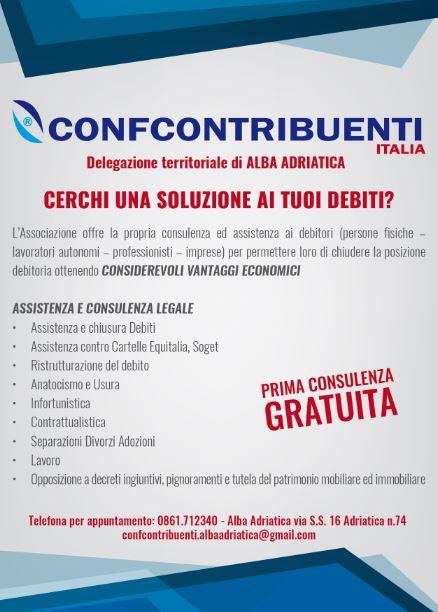 Stampa flyer pubblicitari Alba Adriatica